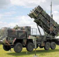 Зенитный ракетный комплекс Patriot (США)