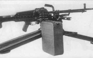 Опытный пулемёт Никитина ТКБ-015 (СССР)