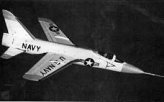 Палубный истребитель Grumman F-11F-1F Super Tiger (США)
