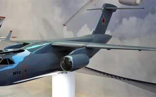 Проект многоцелевого транспортного самолёта Ил-214 / МТС (Россия)