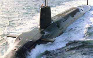 Атомная подводная лодка типа «Vanguard» (Великобритания)