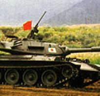Основной танк Type 74 (Япония)
