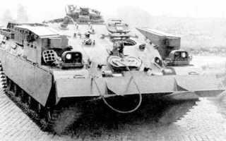 Самоходная зенитная установка Chieftain Sabre (Великобритания)