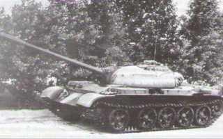 Командирский танк Т-54АК (СССР)