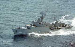 Малый противолодочный корабль Проект 1124 (Гриша I) (СССР)