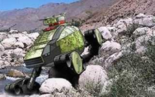 Проект колесной бронированной машины DARPA GXV-T (США)