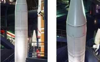 Баллистическая ракета подводных лодок MSBS M-1 (Франция)