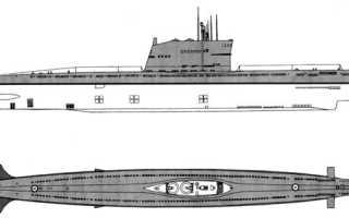 Опытные ракетные подводные лодки проекта В-611 и АВ-611 (Россия)