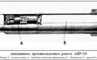 Авиационная противолодочная подводная ракета АПР-2 «Ястреб» (СССР)