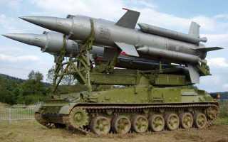 Самоходная пусковая установка 2П24 ЗРК 2К11 «Круг» (СССР)