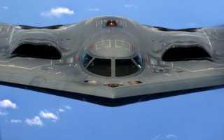 Перспективный cтратегический бомбардировщик Northrop Grumman B-21 Raider (США)