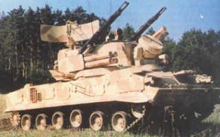 Зенитный пушечно-ракетный комплекс 2К22М1 «Тунгуска-М1» (Россия)