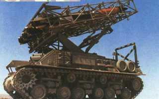 Реактивная система залпового огня MAR-290 (Израиль)