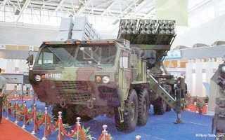 Реактивная система залпового огня LT-2000 (Таиланд)