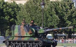 Самоходная гаубица AMX-30 AuF1 (Франция)
