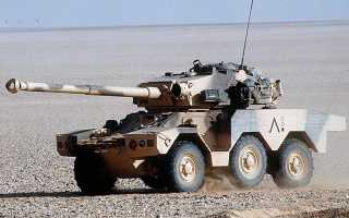 Боевая разведывательная машина ERC-90 F4 «Sagaie» (Франция)