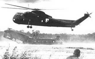 Военно-транспортный вертолёт Sikorsky H-37A Mojave (США)