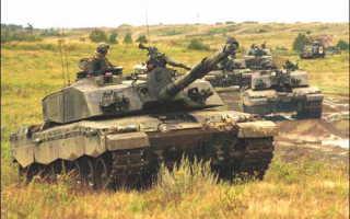 Основной боевой танк Challenger (Великобритания)