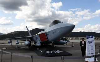 Перспективный истребитель KAI KF-X (Южная Корея)