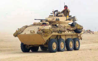 Боевая машина пехоты LAV-25 (США)