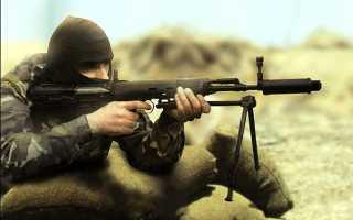 Снайперская винтовка СВУ-А