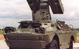 Боевая машина 9А31 зенитного ракетного комплекса 9К31 «Стрела-1» (СССР)