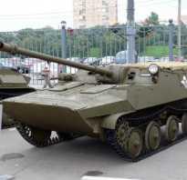 Опытная самоходная артиллерийская установка АСУ-57 выпуска 1948 г. (СССР)