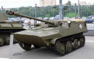Опытная самоходная артиллерийская установка АСУ-57П «Объект 574» (СССР)