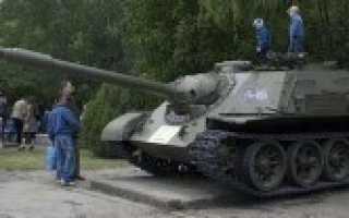 Самоходная артиллерийская установка СУ-122-54 «Объект 600» (СССР)