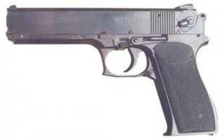 Опытный пистолет ОЦ-33 Пернач (Россия)