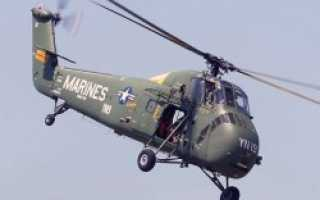 Палубный вертолёт SH-34 Seabat (США)