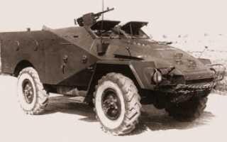 Химический разведывательный бронетранспортер БТР-40ХР (СССР)