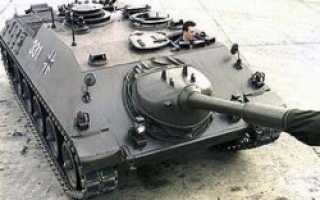 Самоходная противотанковая пушка Jpz 4-5 (Германия)