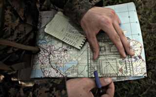 Как изготовить топографическую карту своими руками