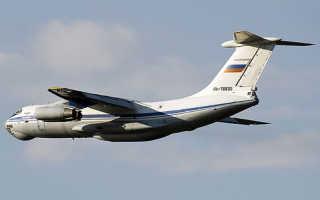 Военно-транспортный самолет Ил-76 (СССР)