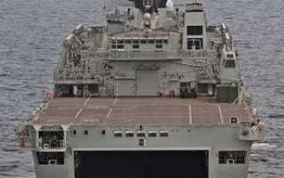 Десантный вертолетный корабль-док типа «Albion» (Германия)