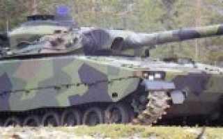 Лёгкий танк CV90105 TML (Швеция)