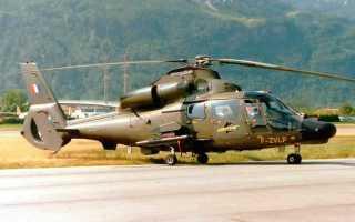 Многоцелевой вертолет AS.565 Panther (Франция)