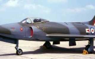 Истребитель Supermarine Swift (Великобритания)