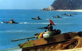 Лёгкий плавающий танк Type 63 (WZ-211) (Китай)