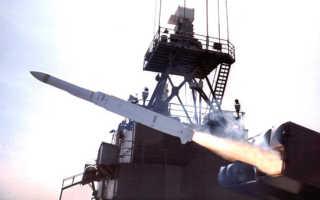 Зенитный ракетный комплекс Mk57 «Sea Sparrow» (США)