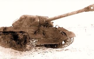 Тяжелый танк ИС-3М (СССР)