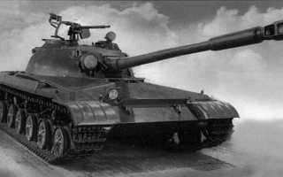 115-мм гладкоствольная танковая пушка Д-68 (СССР)