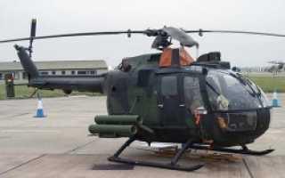 Многоцелевой вертолёт BO-105 (Германия)