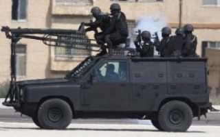 Бронеавтомобиль Jankel Stirling (Иордания)