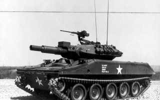 Лёгкий танк M551 Sheridan (США)