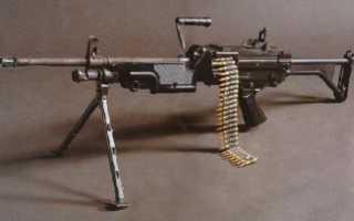 М249 SAW: ручной пулемет американской армии