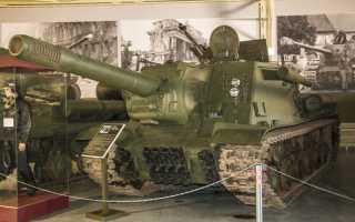 Самоходная артиллерийская установка ИСУ-152К (СССР)